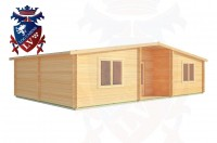 Log Cabins Willingdon 10.0m x 6.0m - 198 2
