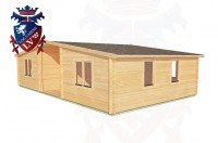 Log Cabins Willingdon 10.0m x 6.0m - 198 3