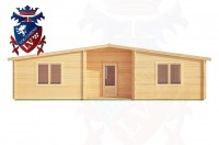 Log Cabins Willingdon 10.0m x 6.0m - 198 1