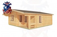Log Cabins Crowborough 6.0m x 7.0m - 200 3