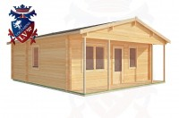 Log Cabins Lower Willingdon 6.0m x 7.0m - 201 2