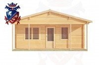 Log Cabins Lower Willingdon 6.0m x 7.0m - 201 1