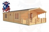 Log Cabins Sidley 5.0m x 10.0m - 202 3