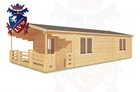 Log Cabins Sidley 5.0m x 10.0m - 202 2