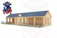 Log Cabins Langney Village 15.0m x 6.0m - 205 2