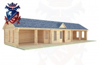 Log Cabins Langney Village 15.0m x 6.0m - 205 3