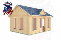 Log Cabins Mayfield 5.0m x 4.0m - 273 2