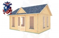 Log Cabins Mayfield 5.0m x 4.0m - 273 3