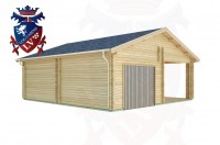 Log Cabins Swaile's Green 7.5m x 8.0m - 285 2