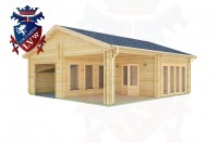 Log Cabins Swaile's Green 7.5m x 8.0m - 285 3