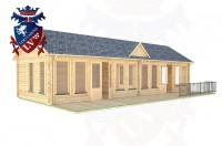 Log Cabins Peacehaven 11.0m x 4.0m - 291 3