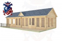 Log Cabins Peacehaven 11.0m x 4.0m - 291 2