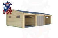 Log Cabins Southease 9.0m x 5.0m - 301 3