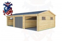 Log Cabins Southease 9.0m x 5.0m - 301 2