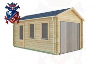 Log Cabins Eridge Green 3.0m x 5.0m - 302 3