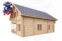 Log Cabins Shoreham-by-Sea 6.0m x 9.0m -369 2