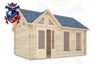 Log Cabins Newick 5.0m x 3.5m - 411 2