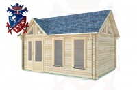 Log Cabins Newick 5.0m x 3.5m - 411 3