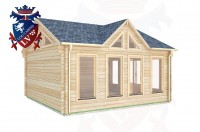 Log Cabins Burwash 5.0m x 5.0m - 414 (Default) 3