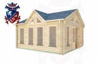 Log Cabins Burwash 5.0m x 5.0m - 414 (Default) 2