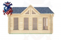 Log Cabins Burwash 5.0m x 5.0m - 414 (Default) 1