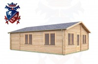 Log Cabins Adversane 6.0m x 8.0m -291 3