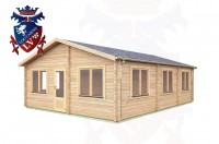 Log Cabins Adversane 6.0m x 8.0m -291 2