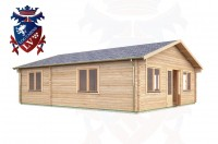 Log Cabins Harting 7.0m x 8.5m -311 3