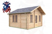 Log Cabins Milland 4.0m x 4.0m -318 2