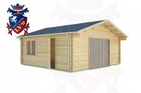 Log Cabins Crowlink 5.7m x 5.7m - 423 2