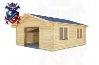 Log Cabins Crowlink 5.7m x 5.7m - 423 3