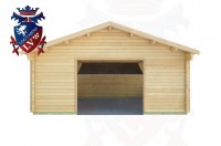 Log Cabins Crowlink 5.7m x 5.7m - 423 1