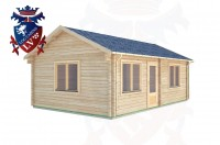 Log Cabins Didling 4.5m x 7.0m -317  3