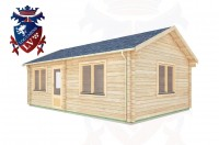Log Cabins Didling 4.5m x 7.0m -317  2