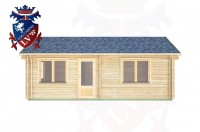 Log Cabins Didling 4.5m x 7.0m -317  1