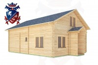 Log Cabins Fishbourne 6.5m x 8.3m -313 2