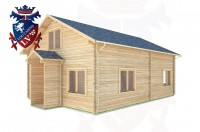 Log Cabins Fishbourne 6.5m x 8.3m -313 3