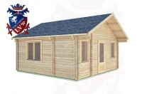 Log Cabins Cuckfield 5.0m x 5.0m -322 2