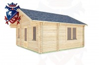 Log Cabins Cuckfield 5.0m x 5.0m -322 3