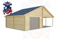 Log Cabins Birling Gap 5.7m x 9.0m - 440 2