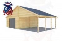 Log Cabins Birling Gap 5.7m x 9.0m - 440 3