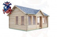 Log Cabins Hove 5.5m x 4.0m - 492 3