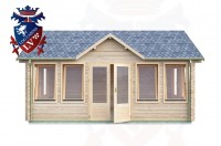 Log Cabins Hove 5.5m x 4.0m - 492 1