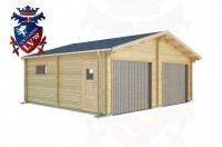 Log Cabins St Anthony's Hill 6.5m x 6.0m - 511 3