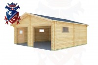 Log Cabins St Anthony's Hill 6.5m x 6.0m - 511 2