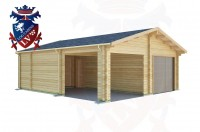 Log Cabins Peacehaven Heights 6.5m x 7.5m - 513 3
