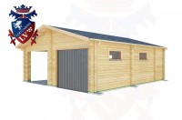 Log Cabins Peacehaven Heights 6.5m x 7.5m - 513 2
