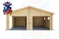Log Cabins Peacehaven Heights 6.5m x 7.5m - 513 1