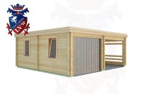 Log Cabins Cackle Street 6.0m x 5.5m - 515 3