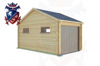 Log Cabins Langney Village 3.0m x 5.0m - 516 2